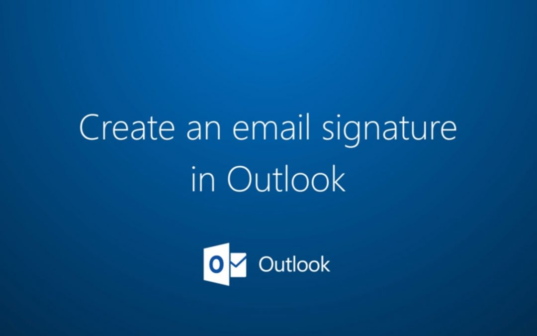 How To Add a Signature to Outlook